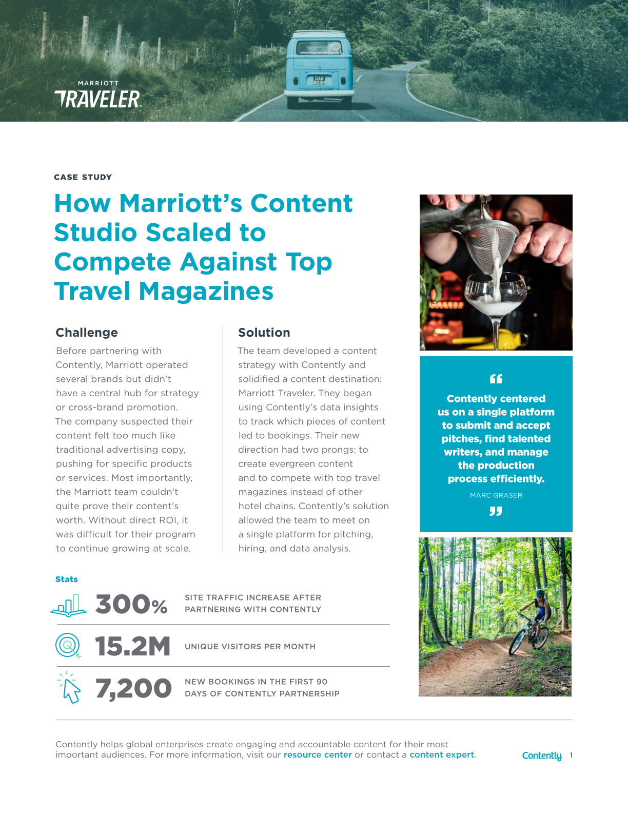 How Marriott's Content Studio Scaled to Compete Against Top Travel